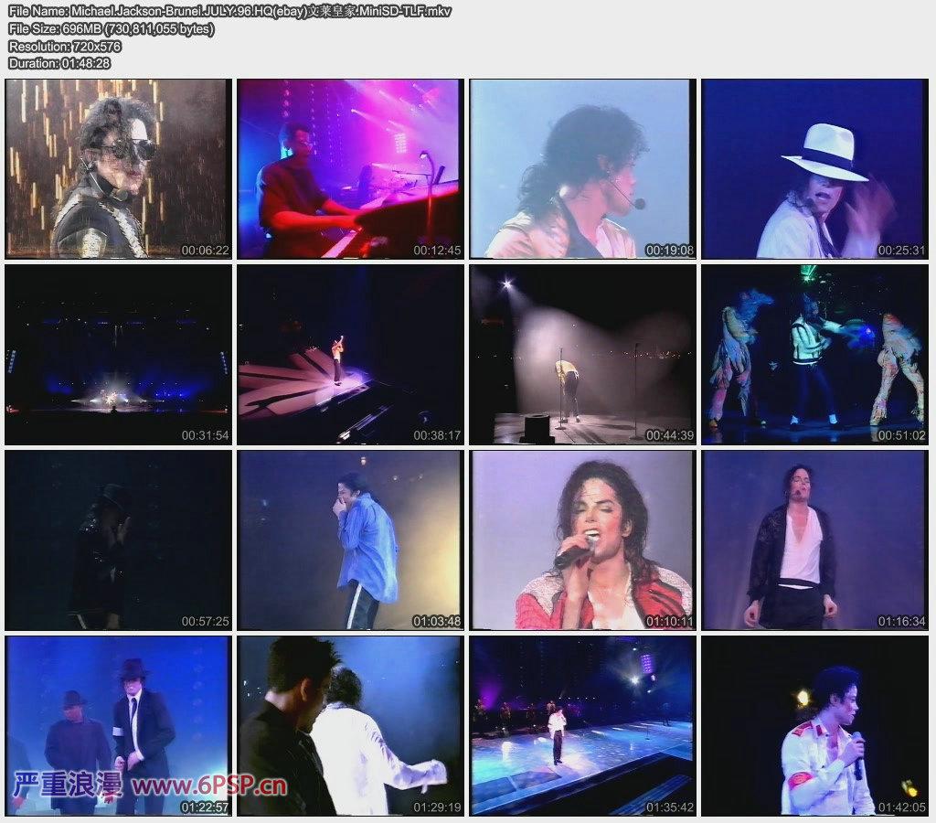 Michael Jackson1996文莱皇家演出