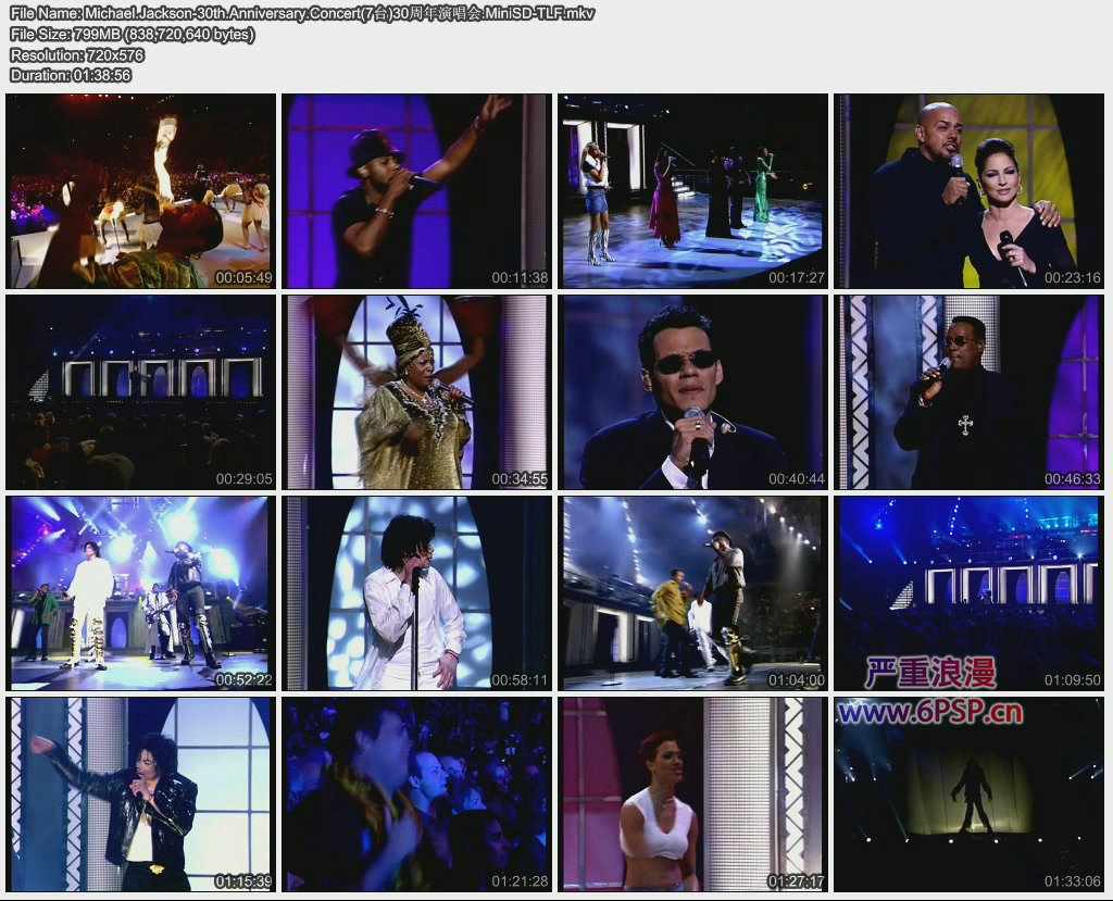 迈克尔·杰克逊从艺30周年演唱会